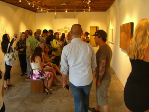 Opening of Micro to Macro at JK Gallery, Los Angeles.