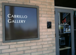Cabrillo College Gallery closed for viewing...