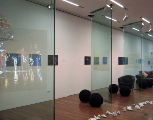 A peak inside the gallery...