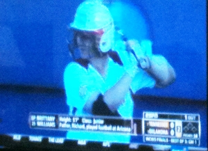 Spent time watching the Women's College World Series for softball : Oklahoma  vs Tennessee.