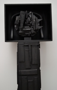 Louise Nevelson's Black Moon.