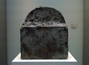 Cy Twombly sculpture.