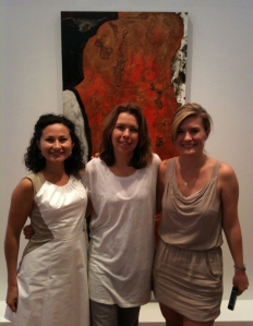 The wonderful women at Wexler Gallery (Melissa on the left and Joy on the right).