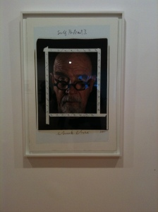 Chuck Close delivers again.