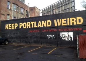 Portland is wonderful just the way it is...