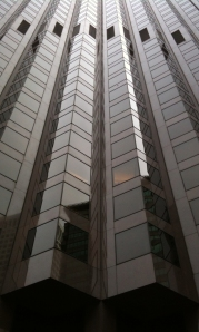 Towering over me at 555 California Street.