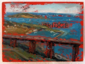 Carolyn Meyer's Bridge for my husband's birthday.