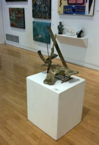 Finding lots of great art locally at the Richmond Art Center...