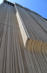 Lines of the PG&E building.