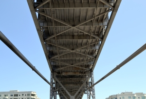 Under the Bay Bridge.