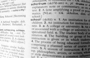 School defines us all...