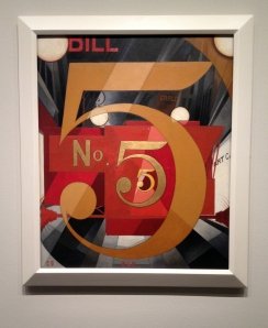 I Saw the Figure 5 in Gold by Charles Demuth.