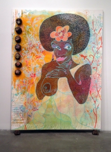 The masterful work of Chris Ofili at the New Museum.