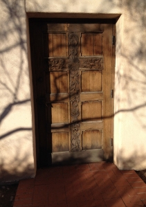 Door to church where my grandmother is buried in Tucson.