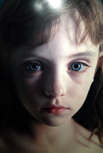 Gottfried Helnwein's Head of a Child (Molly).