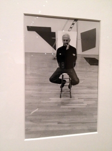 Painter Ellsworth Kelly in New York.