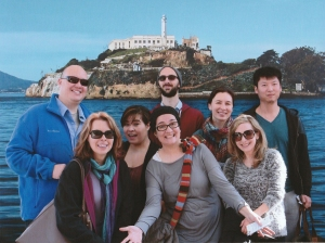 Great group to tour Alcatraz!