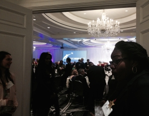 Busy night at the Gala.
