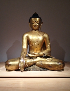 Seated Buddha.